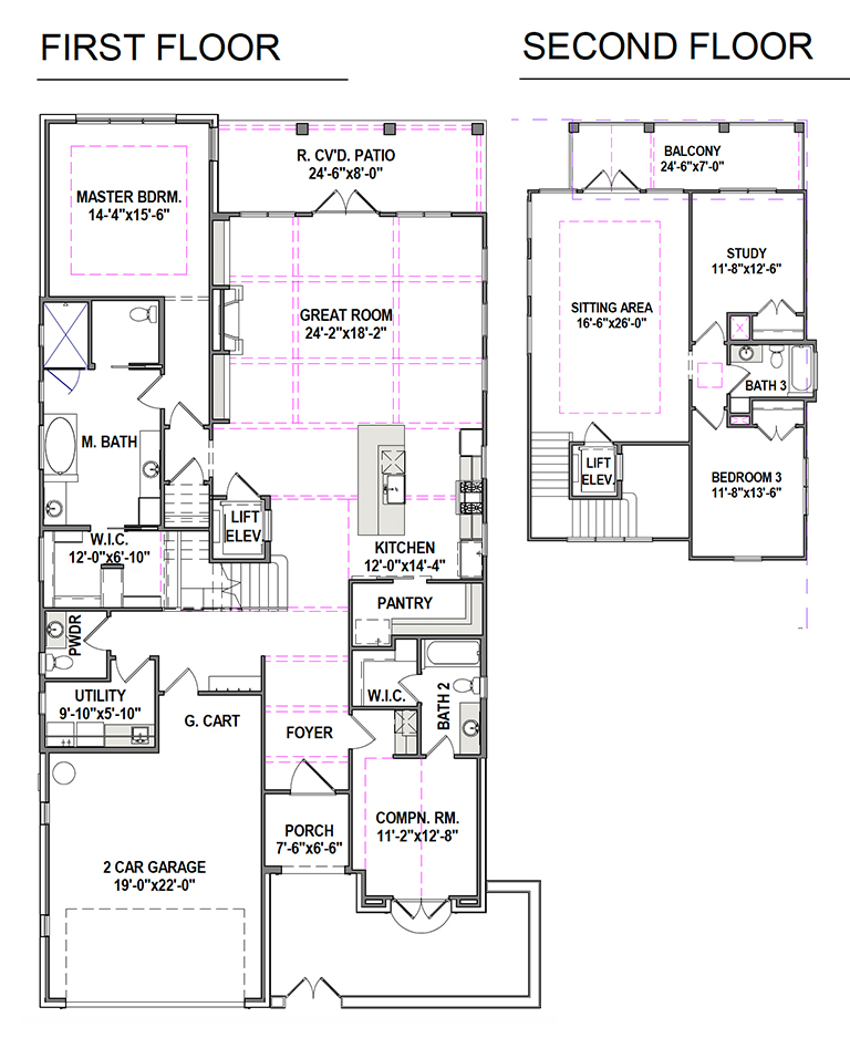 Plan A - Two Story