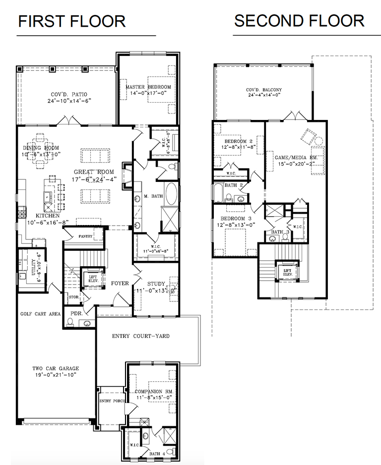 Plan D - Two Story